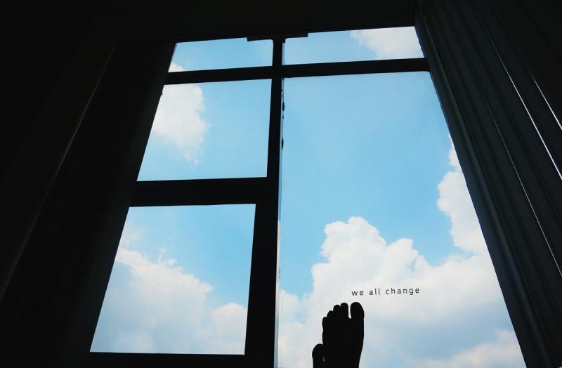 sky under my feet